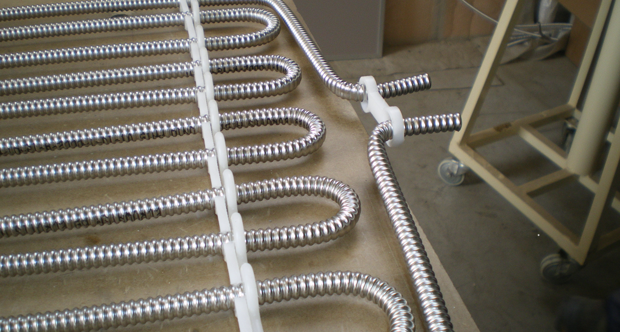 DEVELOPMENT OF NEW HEATING SYSTEMS